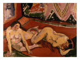 Pechstein: Two Nudes  1909
