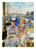 Manet: Boaters  1874