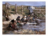Boudin: Laundresses