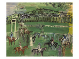 Dufy: Race Track  1928