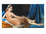 JAD Ingres: Odalisque