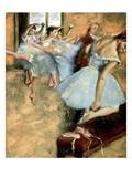Degas: Ballet Class  C1880