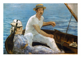 Manet: On A Boat  1874