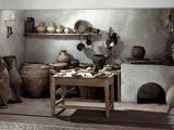 Roman Kitchen  100 AD