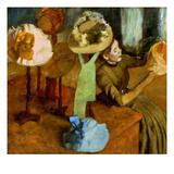Degas: Milliner  1879-84