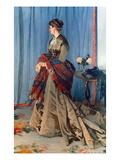 Monet: Mme Gaudibert  1868