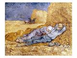 Van Gogh: Noon Nap  1889-90