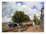 Sisley: Saint-Mamm  1880