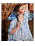 Cassatt: Girl  1886