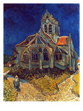 Van Gogh: Church  1890