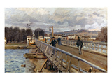 Sisley: Foot-Bridge  1872