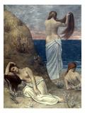 Puvis De Chavannes: Girls