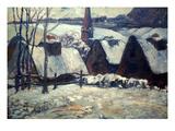 Gauguin: Breton Villag