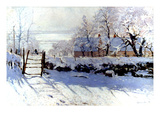 Claude Monet: The Magpie