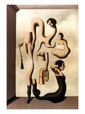Magritte: Acrobat's Ideas