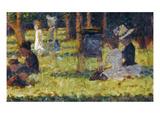Seurat: Grande Jatte  1884