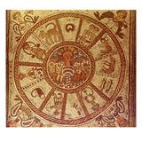Zodiac  Roman Mosaic