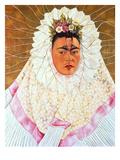 Self-Portrait as a Tehuana (Diego on My Mind)  c1943