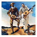 Derain: Harlequin  1924