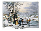 Winter Pastime  1856
