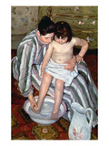 Cassatt: The Bath  1891-2