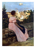 Bazille: Pink Dress  1864