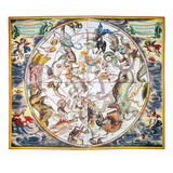 Celestial Planisphere  1660