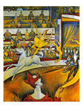 Seurat: Circus  1891