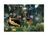Rousseau: Dream  1910