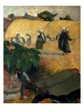 Gauguin: Breton Women