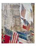 Hassam: Allies Day  May 1917