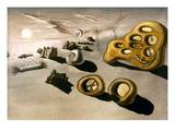 Dali: Spectre/Soir  1930