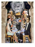 Rivera: Banquet  1928