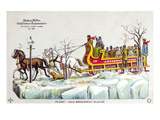 New York: Steet Sleigh