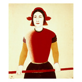 Malevich: Girl  1932-33