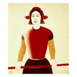 Malevich: Girl  1932-33
