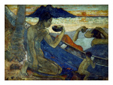 Gauguin: Pirogue  19Th C