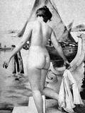 Bathing Nude  1902