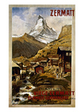 Swiss Travel Poster  1898