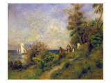 Renoir: Antibes  1888