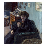 Bonnard: Lady  19Th C