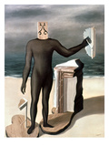 Magritte: Man From The Sea