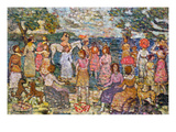 Prendergast: Beach  1916