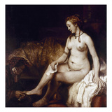 Rembrandt: Bathsheba  1654