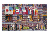 Hassam: Allied Flags  1917