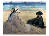 Manet: On The Beach  1873