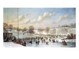Ice Skating  1865