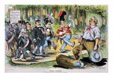 G Cleveland Cartoon  1896