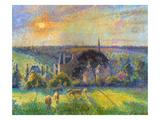 Pissarro: Eragny  1895