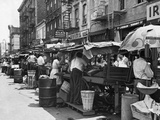 Pushcart Market  1939